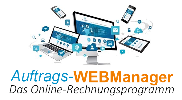 Online Rechnungsprogramm Auftrags Webmanager Rechnungen Online